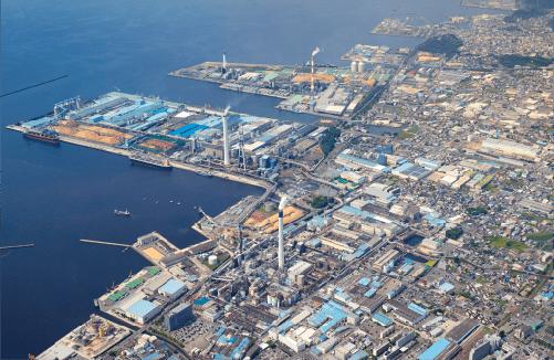 大王製紙 三島工場 全景